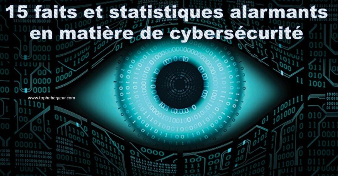 15 faits et statistiques alarmants en matière de Cyber-sécurité