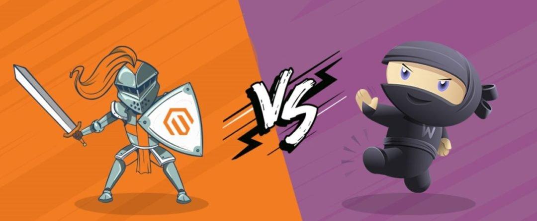 Comparatif Magento vs Woocommerce