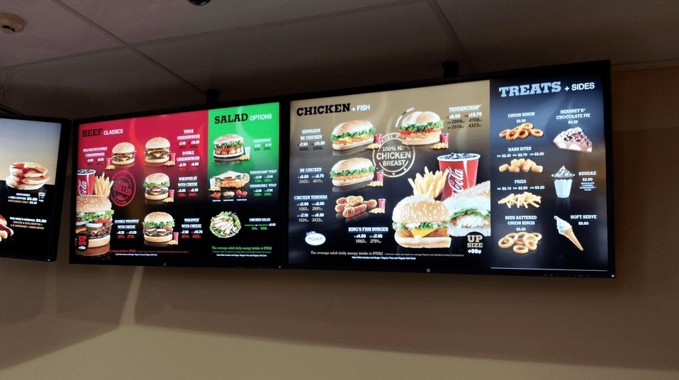 Burger King déploie des tableaux de menu numériques avec Headless CMS