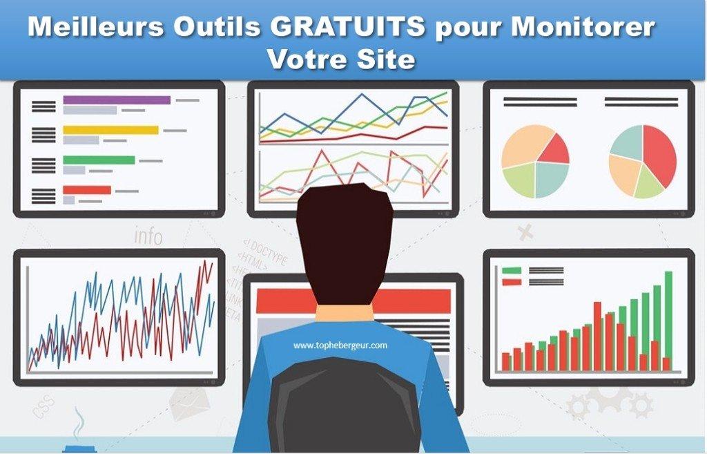7 Outils GRATUITS pour le monitoring de votre site Web. Recevez un SMS lorsque votre site tombe en panne