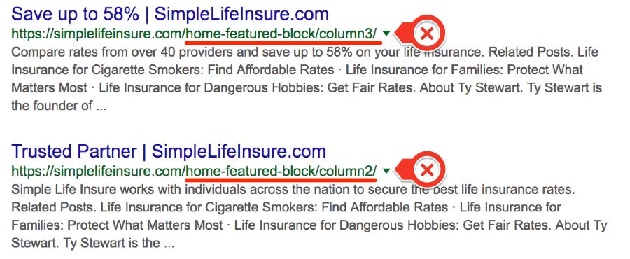 Indexation Google