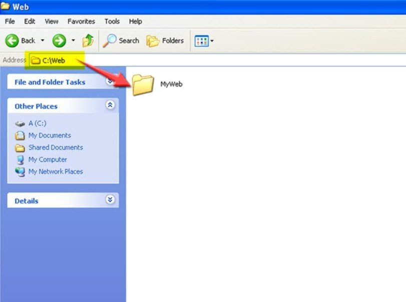ouvrez le fichier httpd.conf