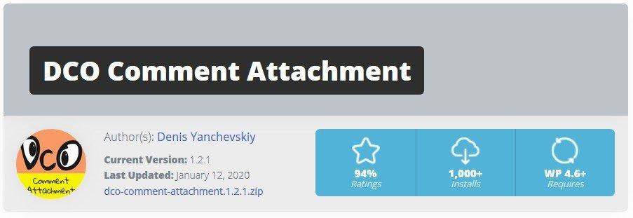 DCO Comment Attachment: