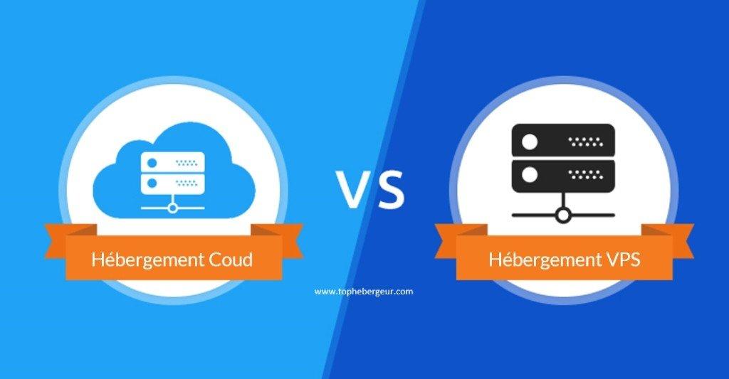 La différence entre VPS et l'hébergement Cloud