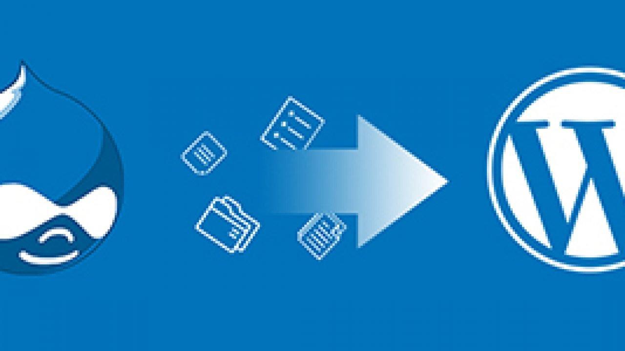Comment migrer votre site Web de Drupal vers WordPress ?