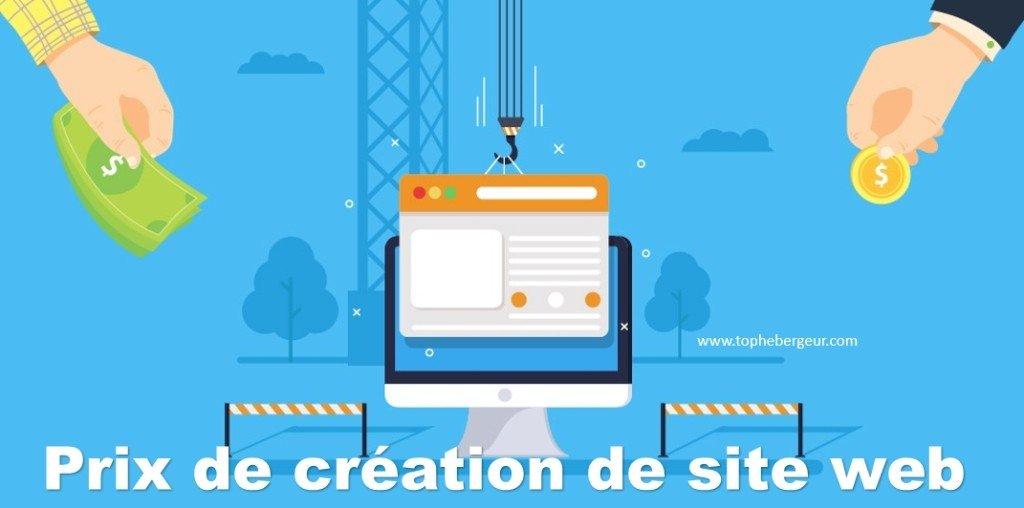 Le prix de création d'un site internet pour particulier et PME