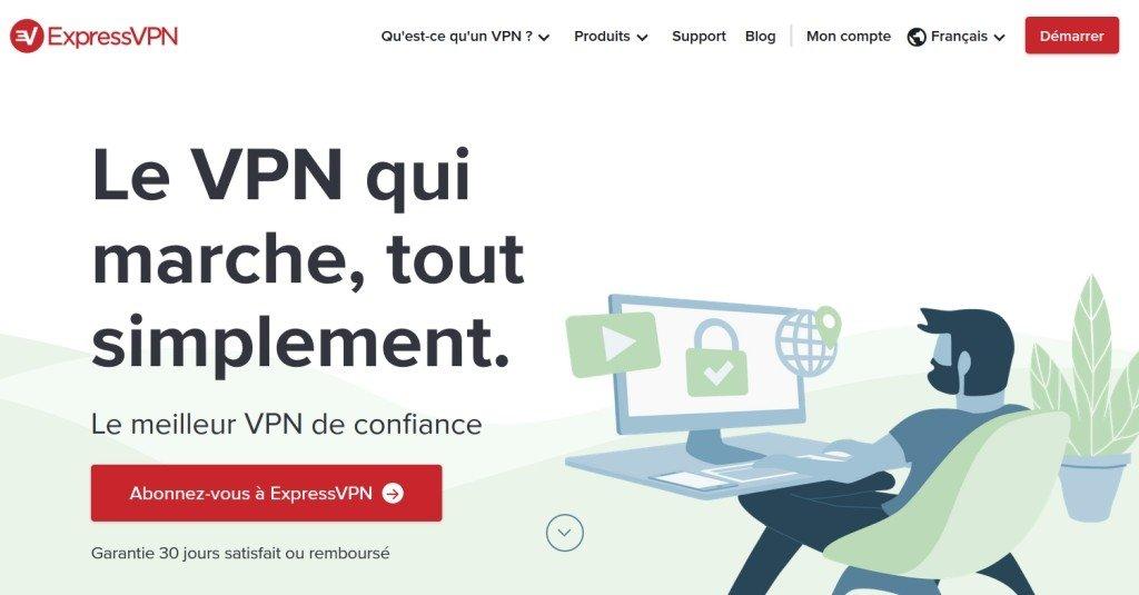 ExpressVPN est le meilleur VPN