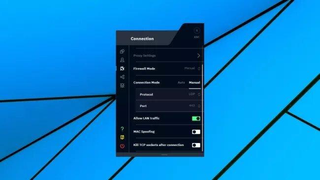 fonctionnalités Windows version beta