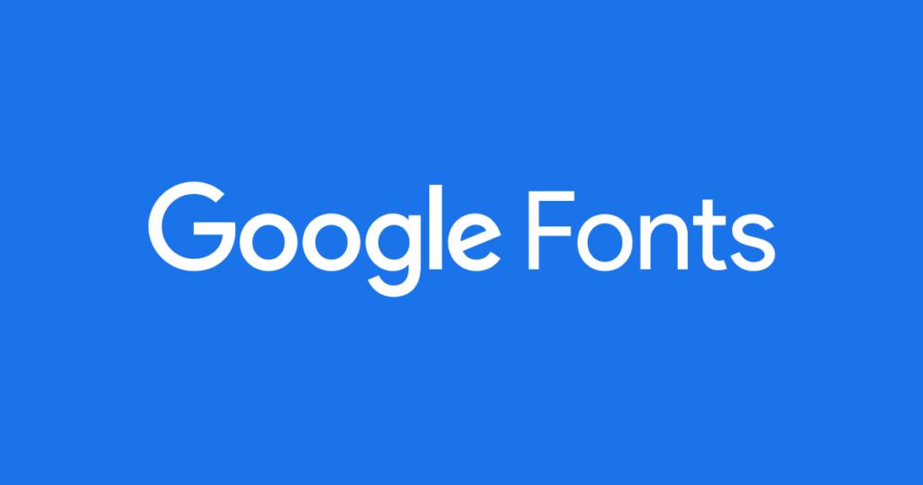 Alternatives Google Fonts