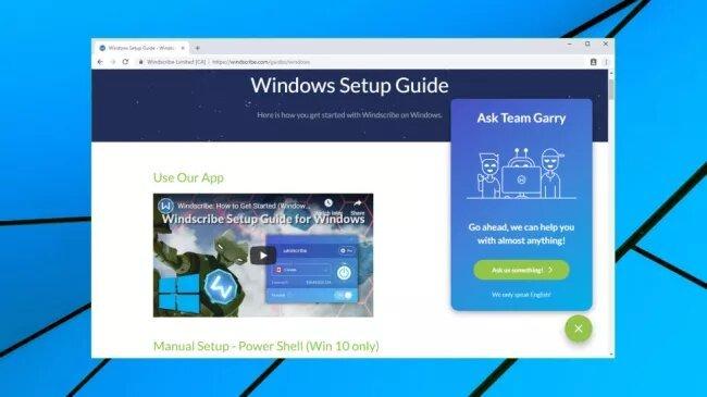 guide installation Windows