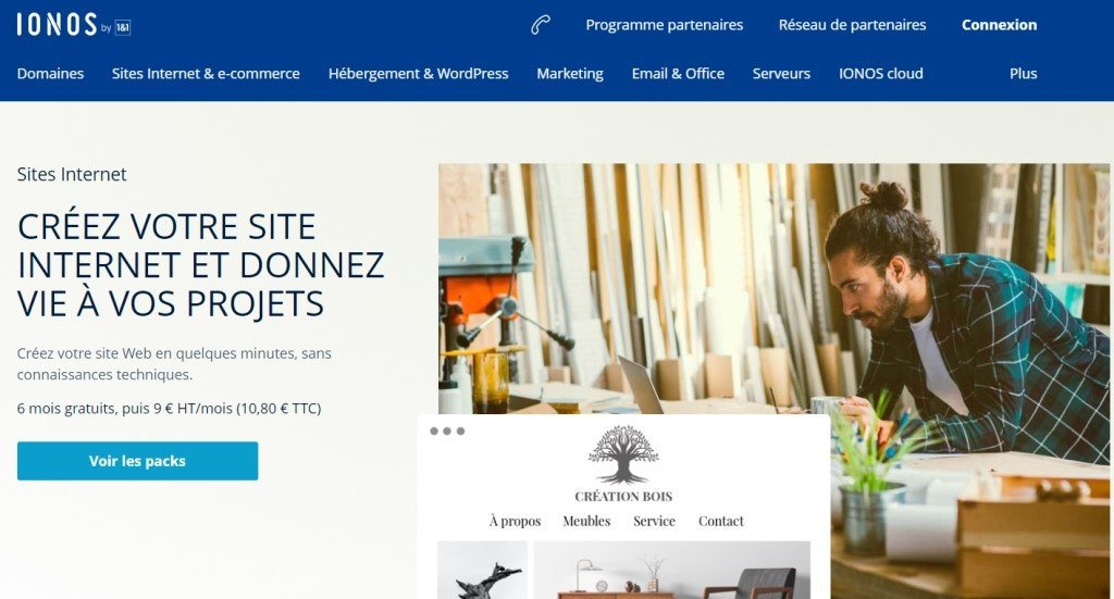 Ionos MyWebsite : Avis et analyse complète
