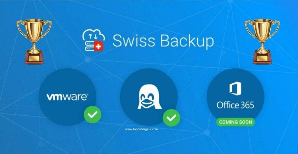 Swiss Backup met la barre haut