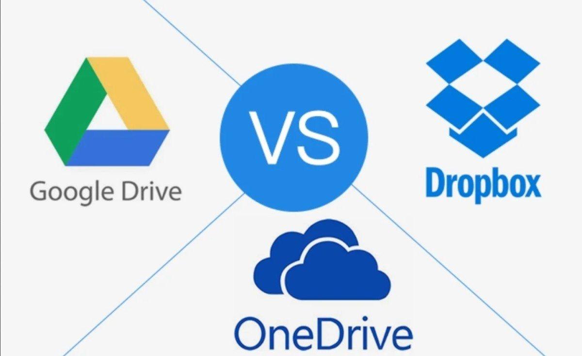 Comparatif Google Drive vs Dropbox vs Onedrive
