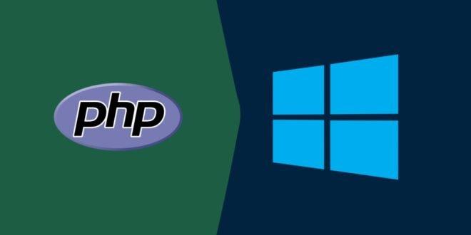Installer PHP Sur Windows