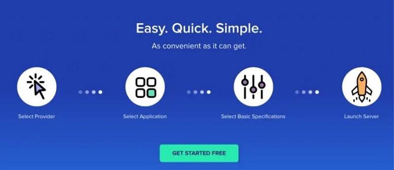 4 étapes pour lancer un serveur cloudways