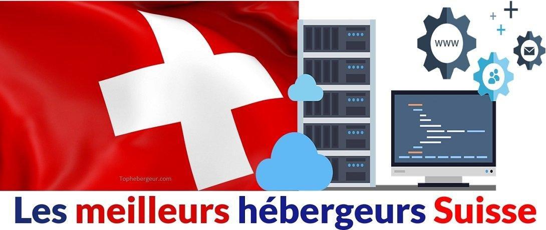Les meilleurs hébergeurs web Suisse