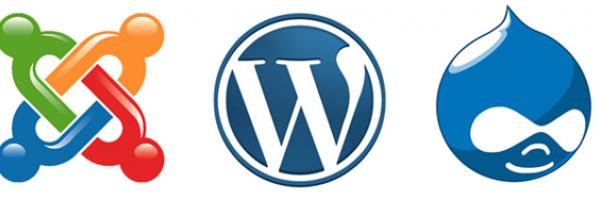 joomla wordpress drupal
