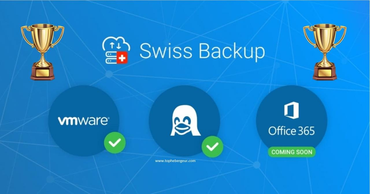 Swiss Backup met la barre haut