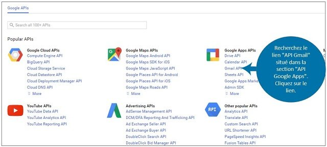 API Google Apps