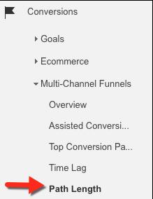Comment trouver la longueur du chemin dans Google analytique