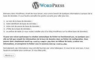 l'erreur d'établissement de connexion à la base de données Wordpress