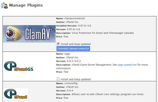 Comment installer un antivirus sur WHM cpanel