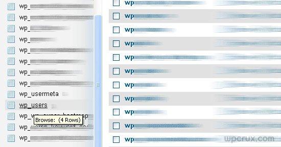 wordpress-users-phpmyadmin