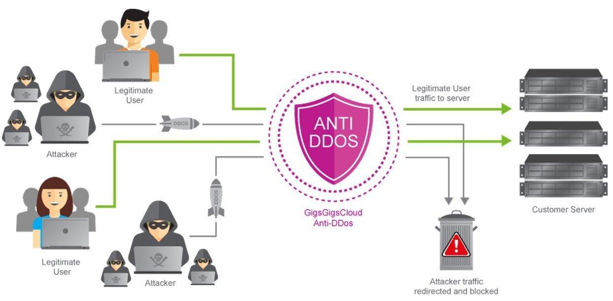 6 critères pour choisir le meilleur hébergement web contre DDoS