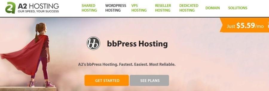 a2hosting pour bbpress