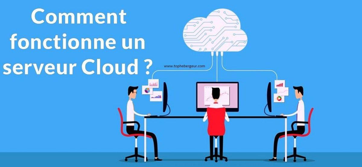 Comment fonctionne un serveur cloud ?