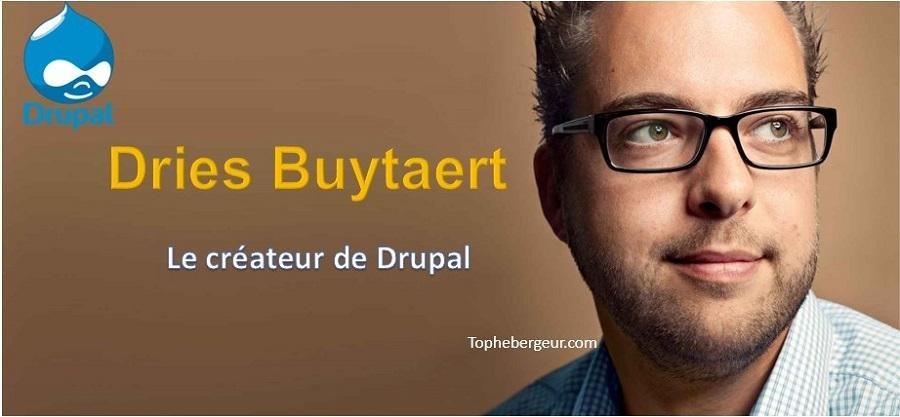 Créateur de Drupal Dries Buytaert