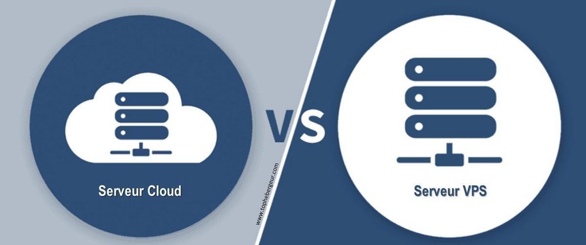 Différences entre serveur Cloud et VPS