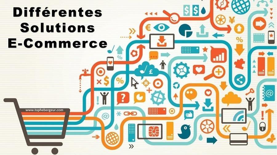 Différents types de solutions ecommerce