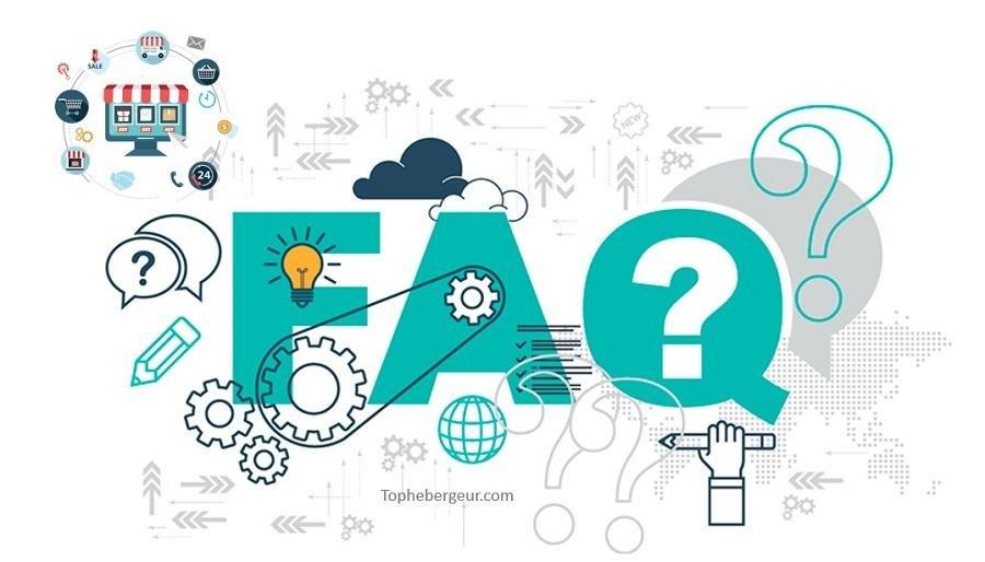 Hebergeur ecommerce FAQ