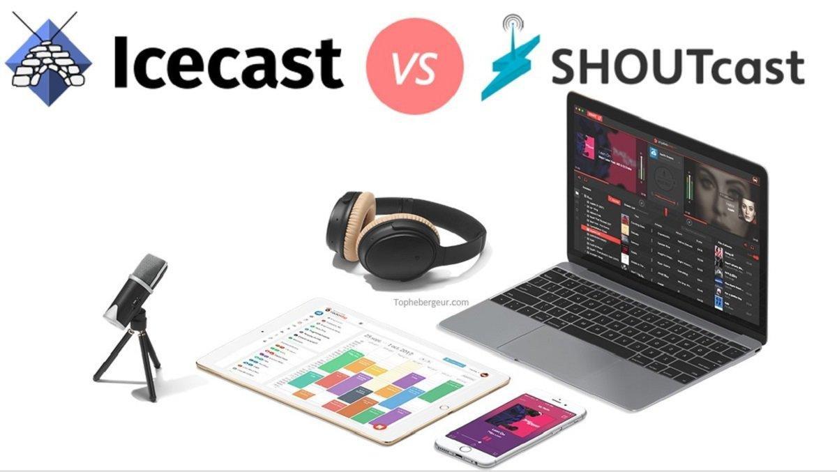 Hébergement ShoutCast OU IceCast