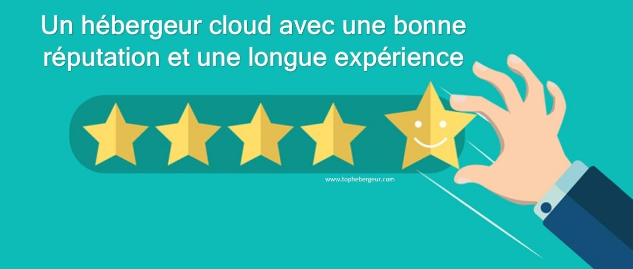 Un hébergeur cloud en France avec longue expérience