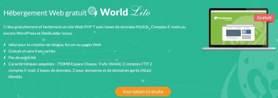 Hébergement de site Gratuit centre de données France et Canada