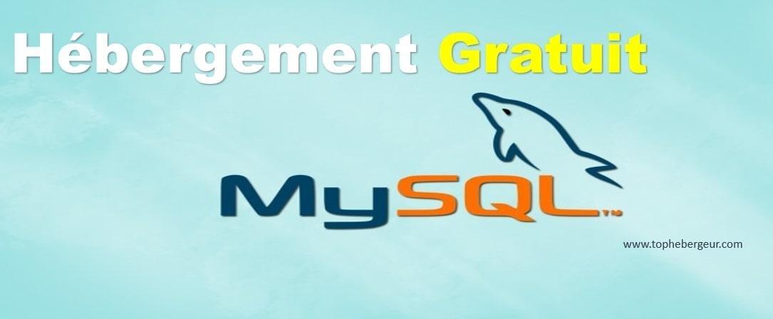 Hébergement MySQL Gratuit