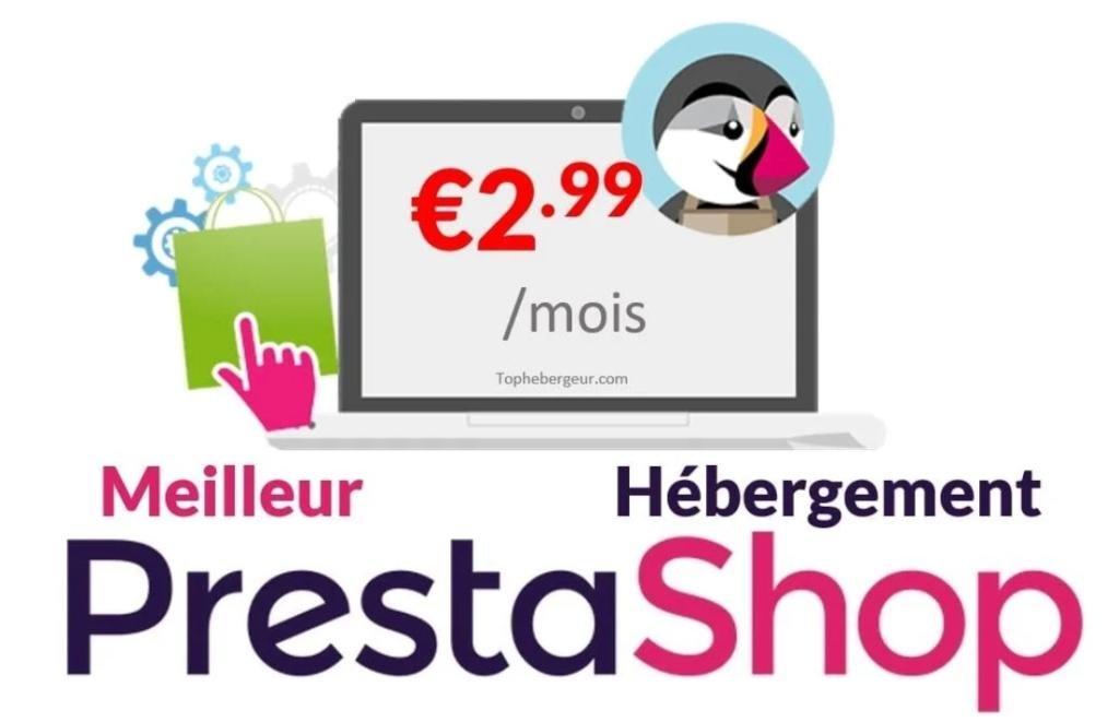 Hébergement PrestaShop