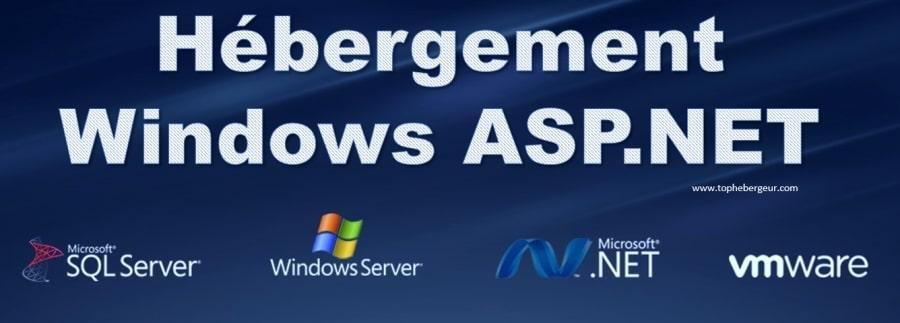 Hébergement Windows avec ASP.Net Core et MVC