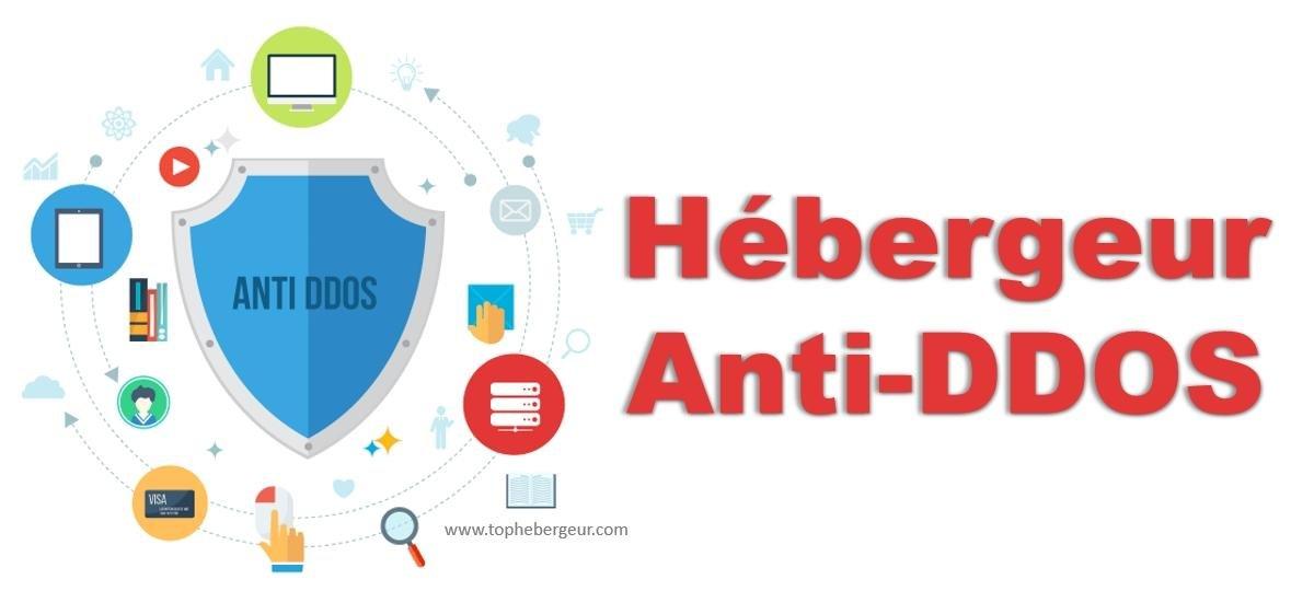 Hébergement Web avec protection anti-ddos