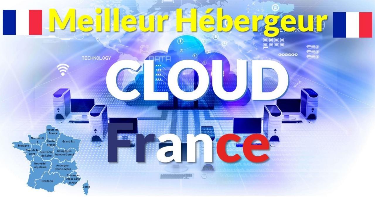 Hébergeur Cloud en France pas cher