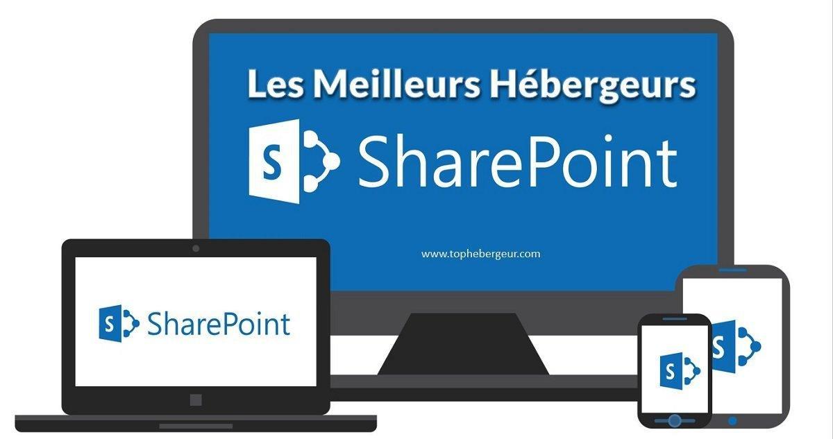 Les meilleurs hébergeurs SharePoint