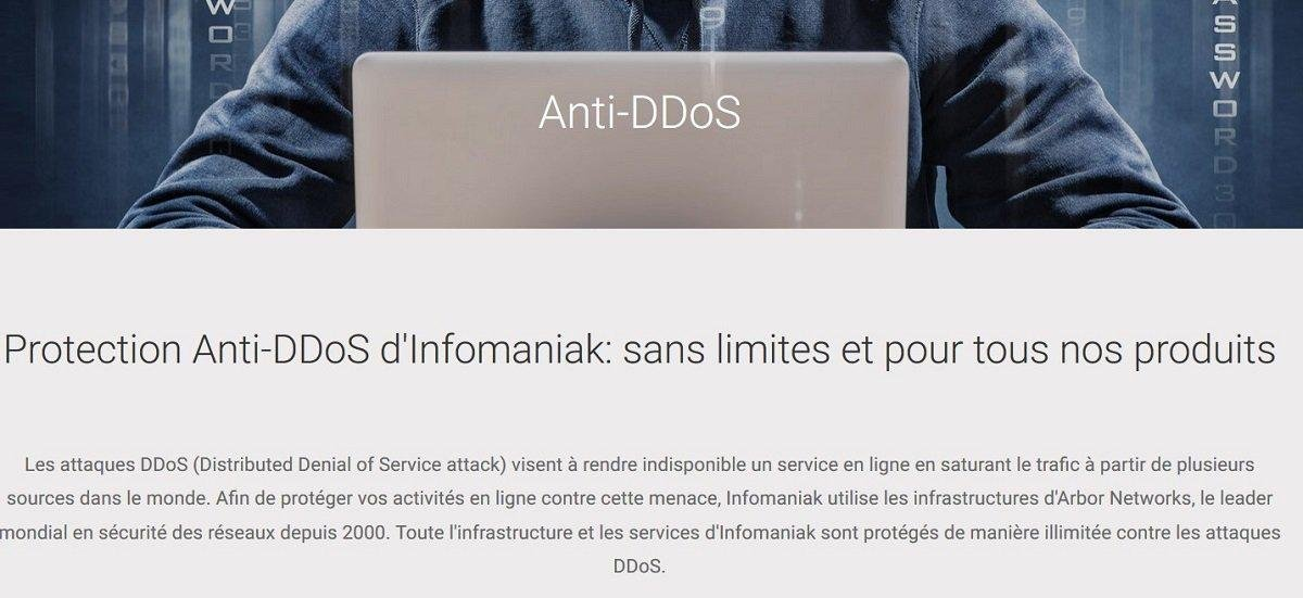 Infomaniak anti DDoS