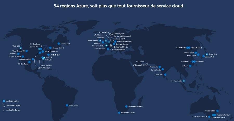 Hébergez SharePoint sur Microsoft Azure