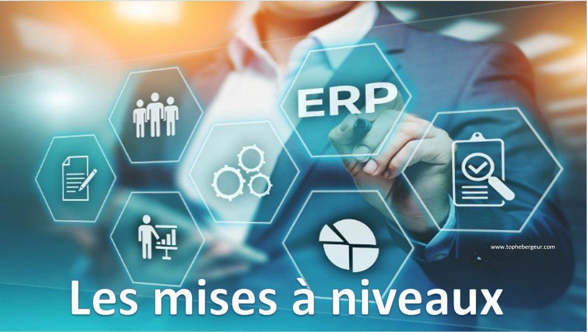 Les mises à niveaux des logiciels ERP Cloud pour les PME