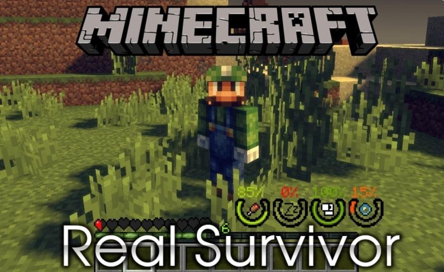 Les modes de jeux trouvés dans Minecraft