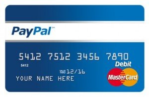 paypal mastercard prépayé
