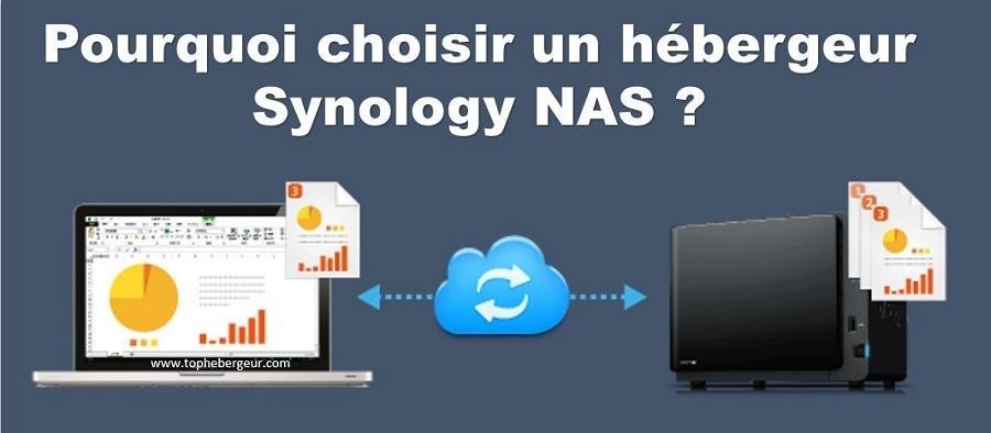 Pourquoi choisir un hébergeur Synology NAS