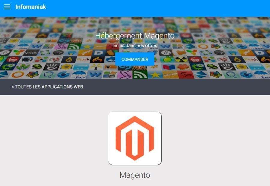 Quel hébergeur Web choisir pour Magento ?